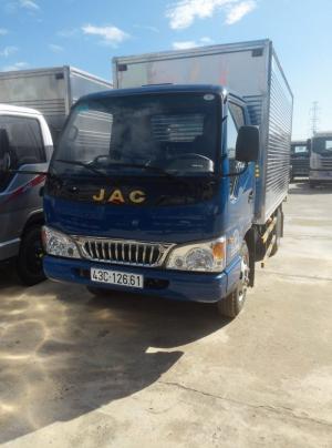 Xe JAC 1,49 tấn, máy isuzu, bảo hành 3 năm/100.000km