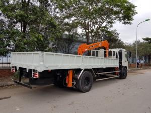 Xe tải cẩu Hino-tải 6,5t-thùng 6,5m-cẩu 5t4k