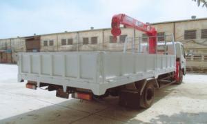 Xe tải cẩu Hino-tải 3,7t-thùng 4,7m-cẩu Unic 3t3k