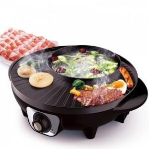 - Với Bếp lẩu nướng đa năng GR-36 bạn hoàn toàn không cần tốn quá nhiều thời gian cũng như công sức đi lại mà vẫn có ngay những món thịt nướng thơm lừng hay món lẩu ưa thích cùng gia đình, người thân.