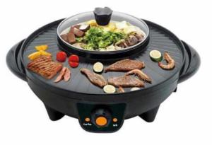 Bếp nướng lẩu Fairlady 2 in 1 ,không cháy khét, khói, bụi. ( Phiên bản bếp lẩu âm ) - MSN383136