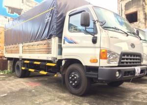 - Hyundai HD99 thùng lửng tải trọng 7 tấn.