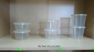 Hộp nhựa Vuông Microwave, Hộp nhựa tròn microwave dùng được trong lò vi sóng