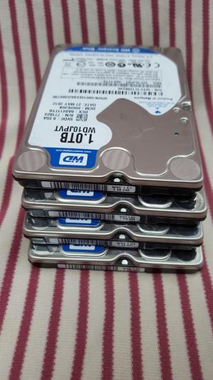 Ổ cứng laptop 1TB (1000GB) Western | hàng tháo máy,new 99%