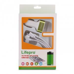 Bộ sạc pin điện thoại trên xe ô tô L912-CC, rẻ ngất ngây, chỉ 190k