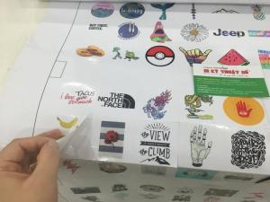 In ấn sticker giá rẻ hồ chí minh - In Kỹ Thuật Số