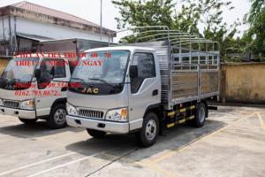 Bán xe tải Jac 2t4 thùng dài 3m7 vào thành phố, trả góp 90%