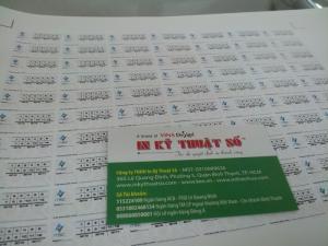 In tem niêm phong giá rẻ tại Công ty TNHH In Kỹ Thuật Số - Digital Printing