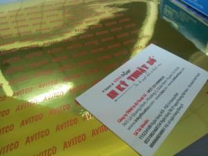 In decal xi vàng giá rẻ TPHCM - In Kỹ Thuật Số
