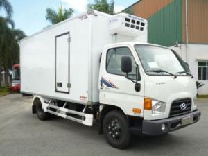 Hyundai HD72, Thùng và máy lạnh củng được nhập từ Hàn Quốc