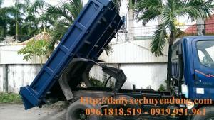 Xe ben hyundai tự đổ hd72 thùng đóng theo yêu...