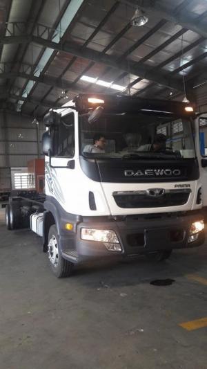 Xe tải Daewoo Prima 13.8 tấn 3 chân