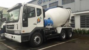 Xe bồn Daewoo Novus SE 17 tấn 7m3