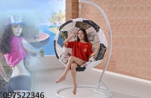 Ghế xích đu mây nhựa đẹp,chất lượng giá cạnh tranh cực rẻ