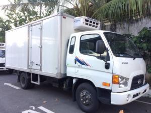 xe tải hyudai hd72 thùng đông lạnh nhập khẩu nguyên chiếc từ korea(hàn quốc) sản xuất 2016