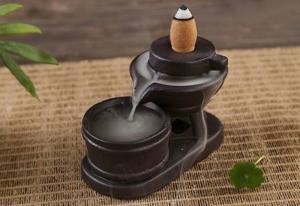 Thác khói trầm hương cối xay