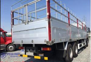 Xe tải trả góp Chenglong thùng inox, thùng nhôm đời 2017.