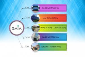 Bán đất giá siêu hấp dẫn thuộc dự án GAIA đà nẵng giá 400tr/nền
