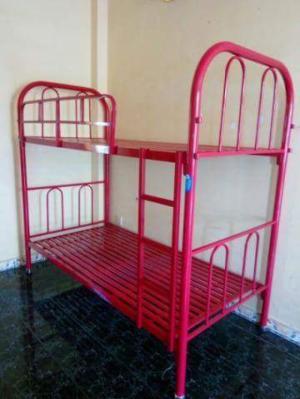 Giường sắt tầng ngang 1m dài 2m , giao hàng miễn phí HCM