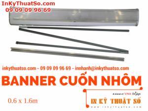 Banner Cuốn Nhôm thường 0.6m x 1.6m - Banner cuốn, Giá cuốn nhôm giá rẻ tại TPHCM
