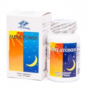 Nuhealth Melatonin - Viên uống giúp ngủ ngon tự nhiên