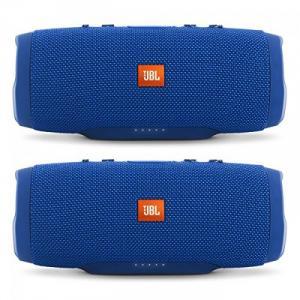Loa JBL Charge 3 Waterproof Portable Bluetooth Speaker (Blue)