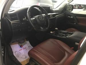 Bán Lexus Lx570 Mỹ Màu Trắng Nội Thất Đỏ, Xe Đẹp