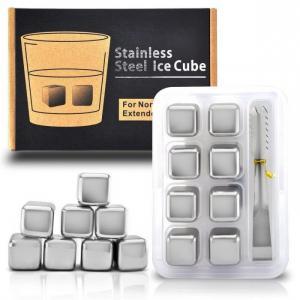 Đá làm lạnh không tan - Stainless Steel Ice Cubes set 8