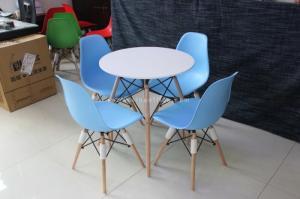 Ghế nhựa chân gỗ thanh lý