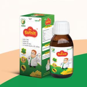 Viên nhai Dr. Sutsit - Giải cảm, giảm ho, giảm sổ mũi