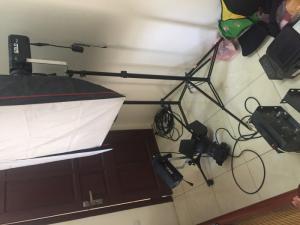 Cần Bán Bộ Đèn Solo D800+D600+Rulo 2 Trục Phông
