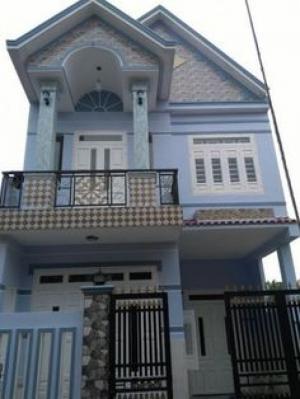 Nhà mới 100%, Thiết kế đẹp 3PN, 2TL, Giá ưu đải, Giáp Bình Chánh