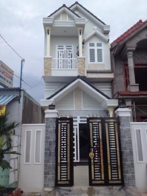 Nhà đẹp bán 1 trệt 1 lầu, 4PN, 2 Tolet, Nhà mới 100%, Không gian rộng