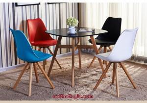 Ghế nhựa chân gỗ cần thanh lý