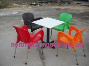 Cần thanh lý số lượng lớn ghế nhựa chân inox giá rẻ