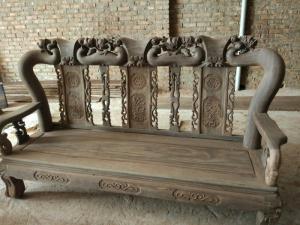 Bộ bàn ghế minh quốc đào gỗ chiu liu