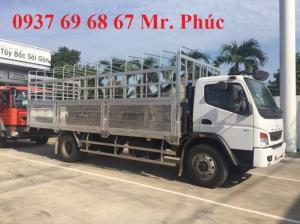 Bán Xe Tải Fuso Fi12R 7 Tấn/7T Thùng Dài 6.6M Nhập Khẩu, Màu Trắng, 2017, Giá Rẻ