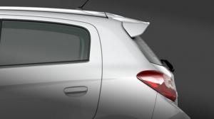 Cánh lướt gió đuôi xe Cánh lướt gió phía đuôi xe giúp tăng tính khí động học và kết hợp hài hòa với thiết kế đuôi xe. Đồng thời, đèn phanh thứ ba dạng LED cũng được tích hợp, gia tăng khả năng an toàn cho xe.