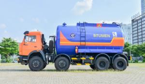 Xe nhựa đường Kamaz 17,5m3 mới 2016
