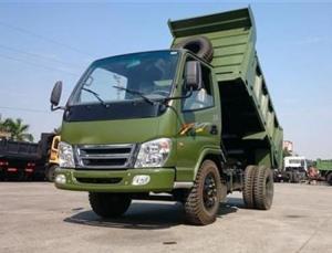 xe tải tự đổ 3,49 tấn , 1 cầu