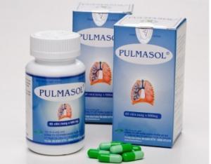 Pulmasol - Hỗ trợ điều trị hen suyễn, COPD