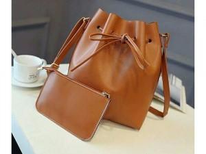 Bộ túi đeo vai nữ kèm ví mẫu đẹp