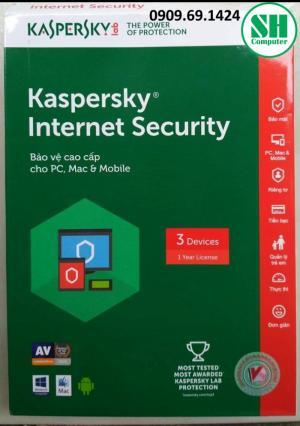 SH COMPUTER Bán Kaspersky Internet Security – Phần mềm bảo vệ cao cấp cho PC, Mac & Android