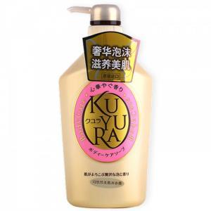 Sữa tắm Shiseido Kuyura 550ml (hồng)
