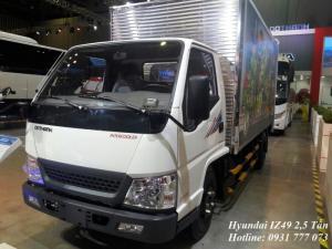 Hyundai IZ49 2,4 Tấn, Trả trước 80 triệu, giao xe tháng 09/2017