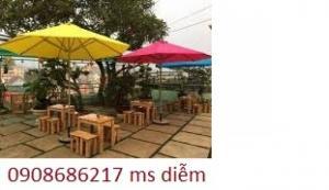 Dù cafe che mưa  giá rẻ nhất