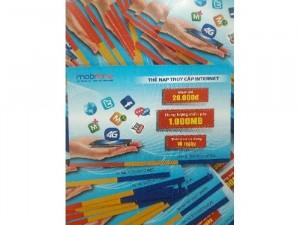 Thẻ cào data 4G 1400MB Mobifone