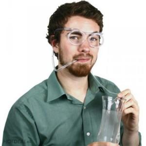 Combo 2 Mắt kính ống hút độc đáo