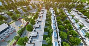 Bán biệt thự liền kề Vinhomes Riverside Long Biên - Hà Nội, 3 tầng 100m2