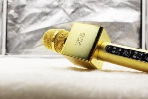 Micro Karaoke X6 Kèm Loa Bluetooth Chính Hãng Loại Tốt